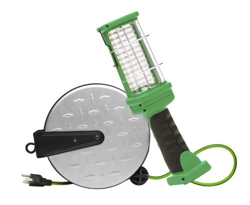 designer edge lighting. designers edge e319 30foot retractable extension cord led handheld work light designer lighting