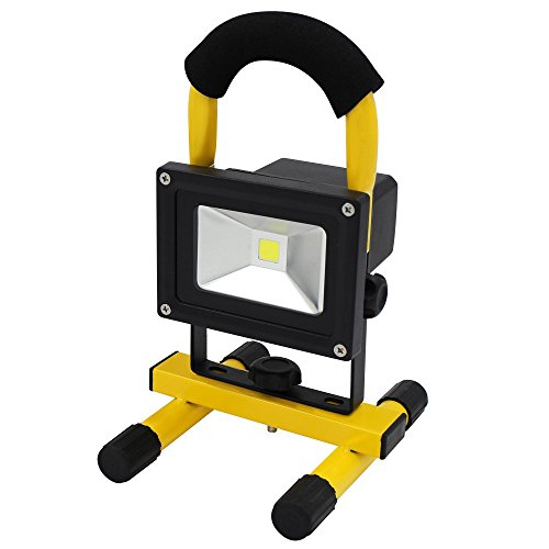 portable rechargeable cordless led work light flood light durable waterproof emergency light. Black Bedroom Furniture Sets. Home Design Ideas