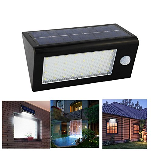 Senbowe™New Upgrade 400 Lumen 32 LED IP65 Waterproof Solar Motion Sensor  Lights Outdoor /