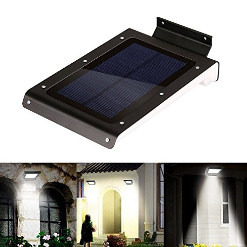 Kohree® Bright 46 Led Solar Motion Sensor Lights, Wireless