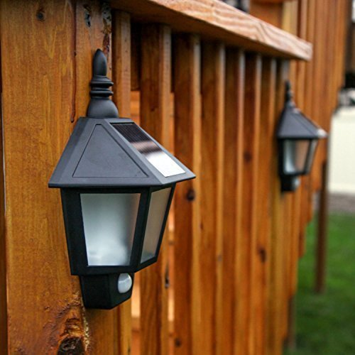 Pack Of 2 Kyson Waterproof Solar Garden Light Led Pir