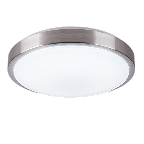zhma 8 inch led ceiling light natrual white 8w 680lm 60w incandescent 18w fluorescent bulbs