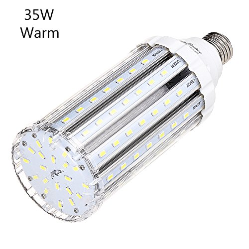 Outdoor Lamp Bulb Socket: 35W Warm White LED Corn Light Bulb For Indoor Outdoor