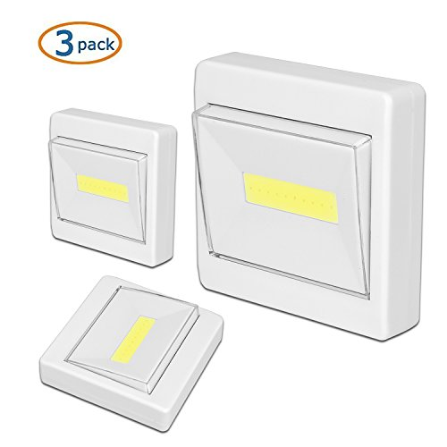 Garage Lights That Come On At Night: Closet Light, Semlos Led Night Light Battery Operated
