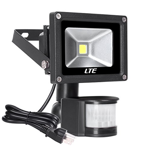 Motion Sensor LED Flood Light,760 Lumens Daylight White