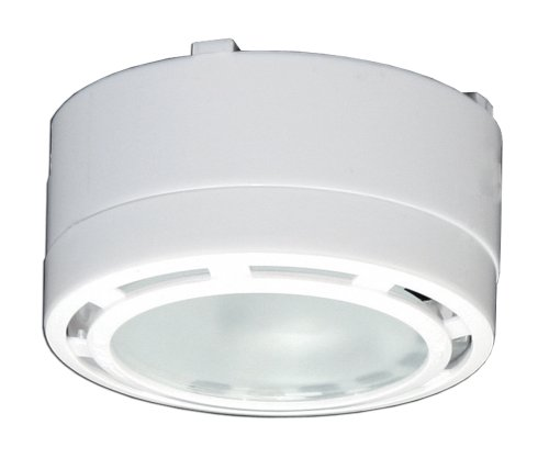 American Lighting ALPX20WH 12 Volt Under Cabinet Puck Lighting Kit, Xenon  Bulb, 1 Pack, White