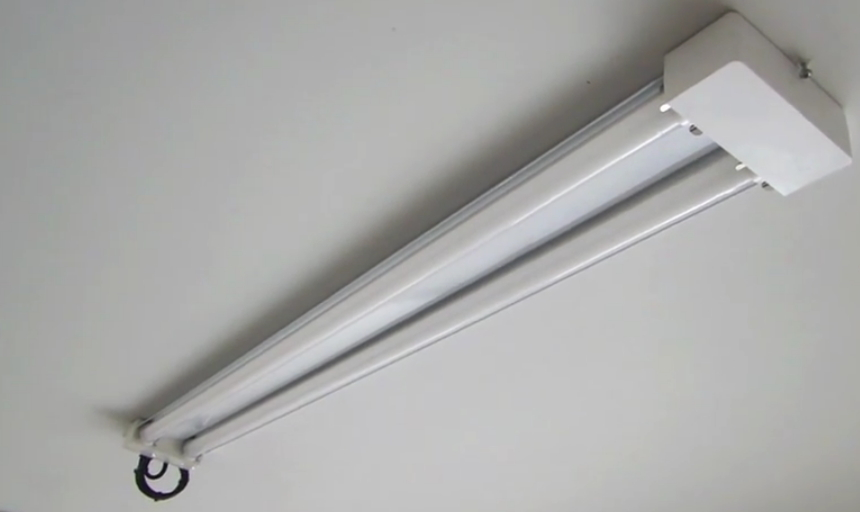 Replace Fluorescent Garage Lights
