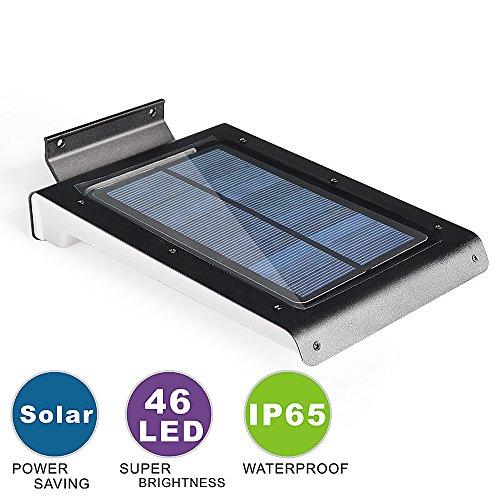 ASSEM® Bright 46 Led Solar Motion Sensor Lights, Wireless