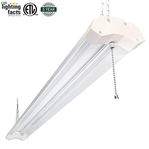 Hykolity Utility Led Shop Light 4ft 40 Watt 4800 Lumen