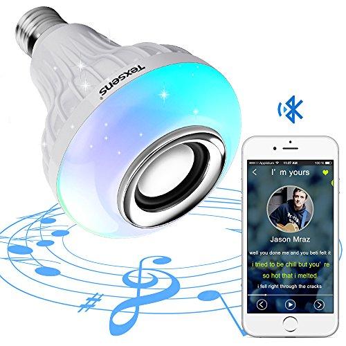 Texsens Smart Light Bulb Speaker Generation II With