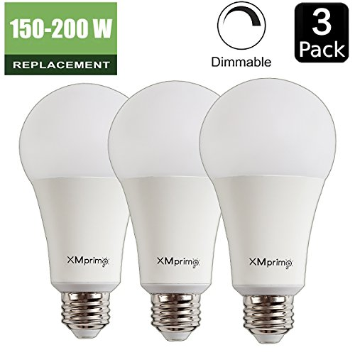 22w 150w 200w Equivalent A21 Dimmable Led Light Bulb