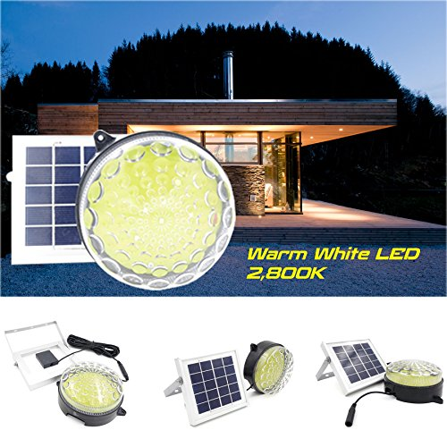 Solar Shed Light // ROXY-G2 (Warm White LED) // Lighting